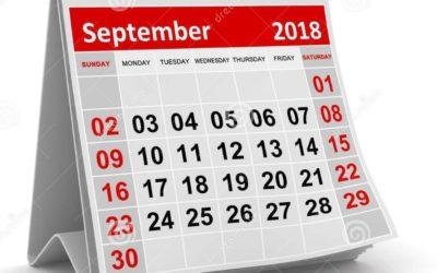 Ce qui change au 1er septembre 2018