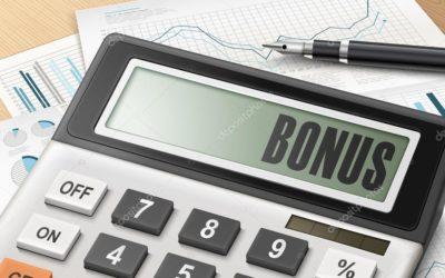 Calculez votre % de bonus annuel !