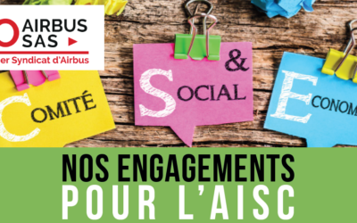 Nos engagements pour l'AISC / Our commitments for the AISC