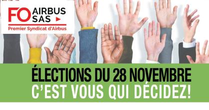 Elections du 26 au 28 novembre – Vote Présentiel et Vote à Distance