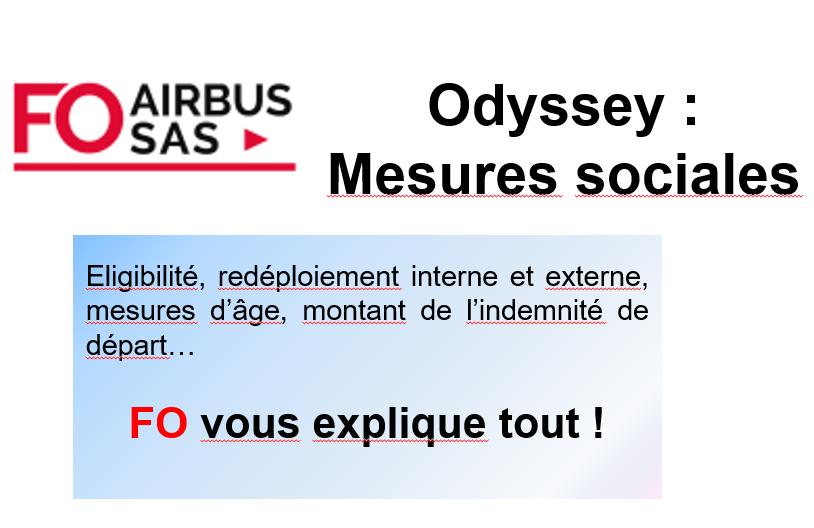 Détail des mesures du plan social / Details of the social plan measures